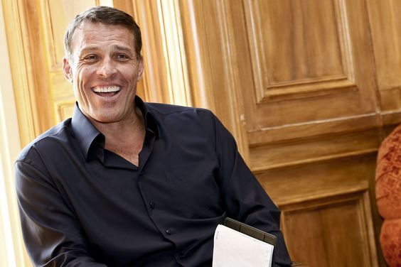 IMAGE DISTRIBUTED FOR SHOPIFY - Businessman, Author, Motivational Speaker, And Philanthropist Tony Robbins Inspires Entrepreneurs At Shopify's Annual Build A Business Competition On Monday, Aug. 15, 2016, At Oheka Castle In Huntington, New York. Tens Of Thousands Of People, From Over 4,500 Cities Around The World Applied. Forty-five Percent Of Them Had Never Sold A Product Before. (Brian Ach/AP Images For Shopify)
